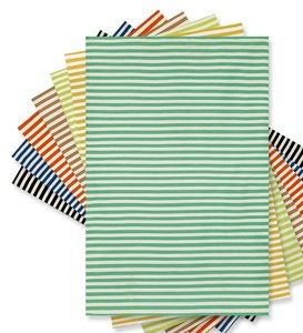 "5' x 7'6""Sorrento Mini Stripe Indoor/Outdoor Rug - Lime"