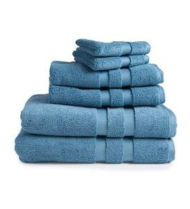 Signature Washcloths, Set of 2 - Blue Spruce