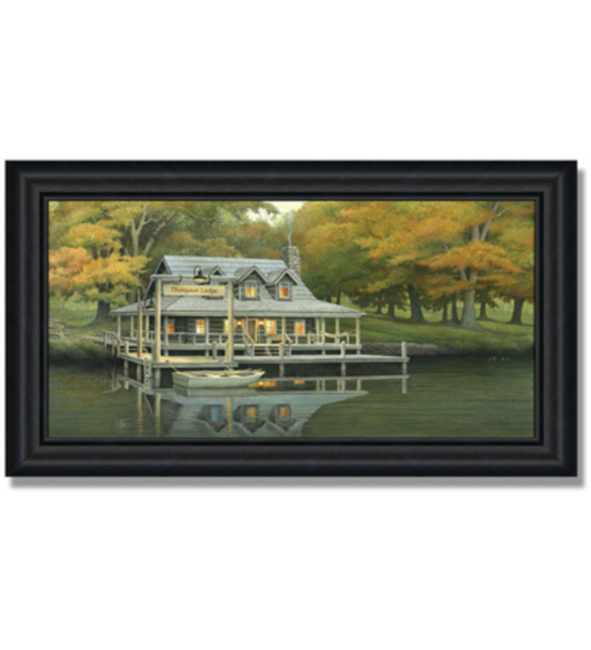 'Lake House' Personalized Print
