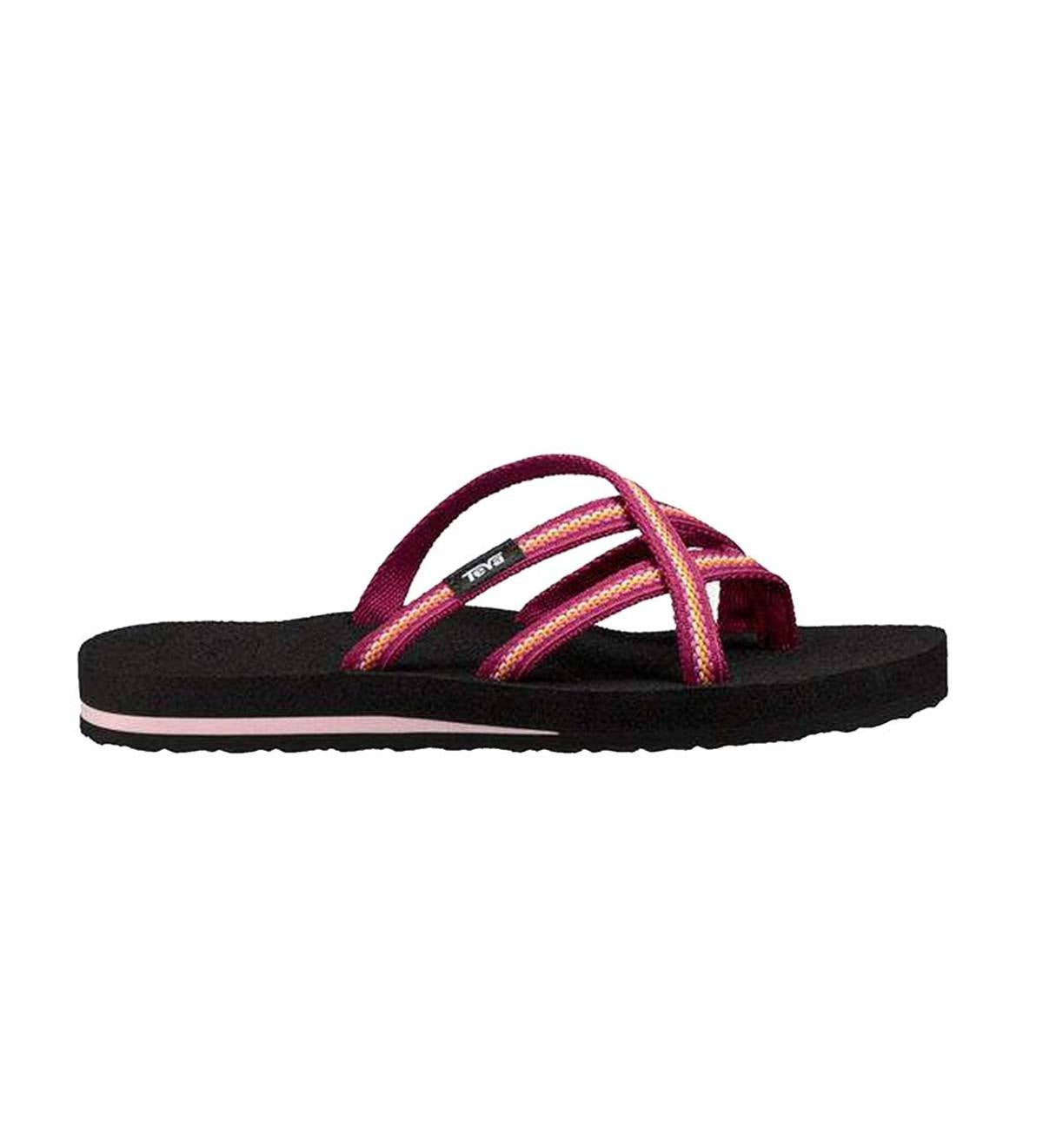 b46f0e8ea5e651 Teva Women s Mush Olowahu Flip Flops - Boysenberry - Size 6