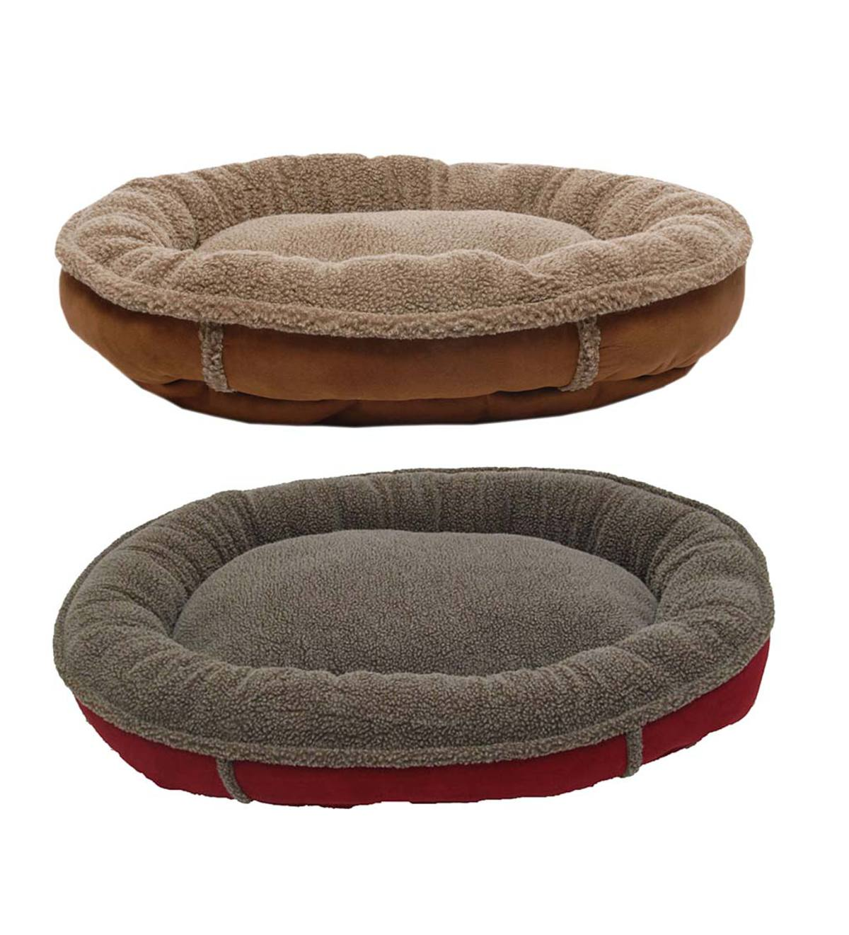 Round Comfy Cup Pet Bed, Large