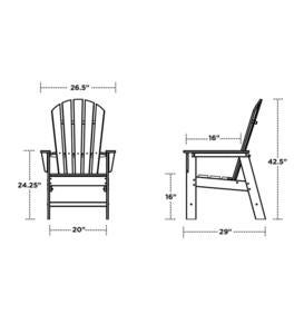 Poly-Wood Adirondack Chair