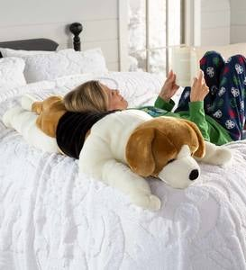 Beagle Plush Body Pillow