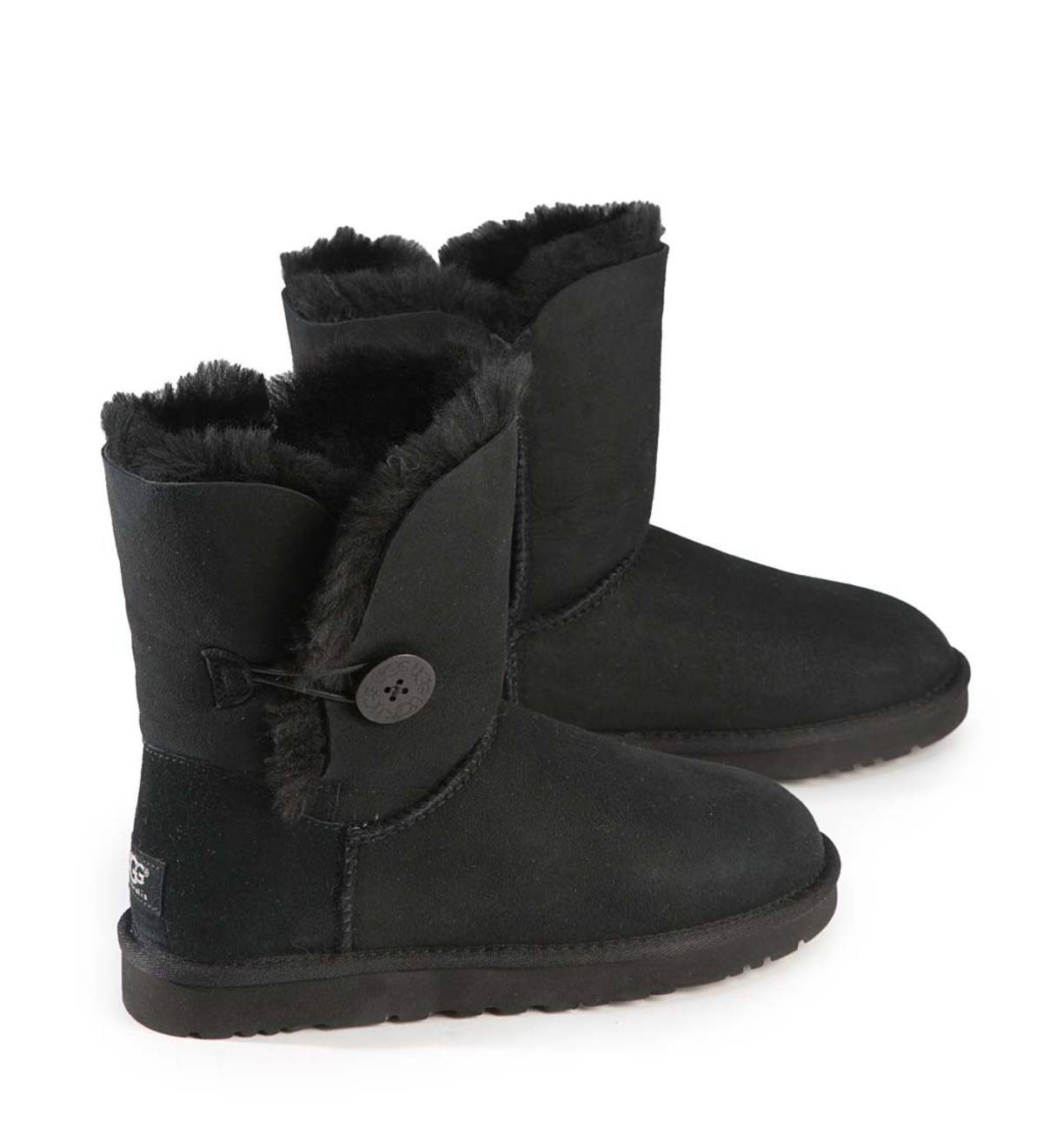 UGG Women's Bailey Button II Boots - Black - Size 6