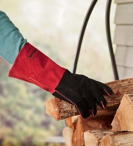 Suede Hearth Utility Gloves