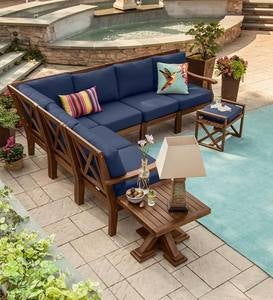 Claremont 6-Piece Sectional with Cushions