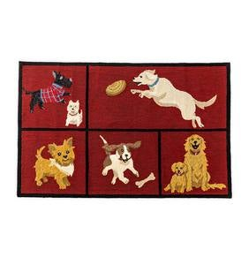 Dog Park Indoor/Outdoor Accent Rug