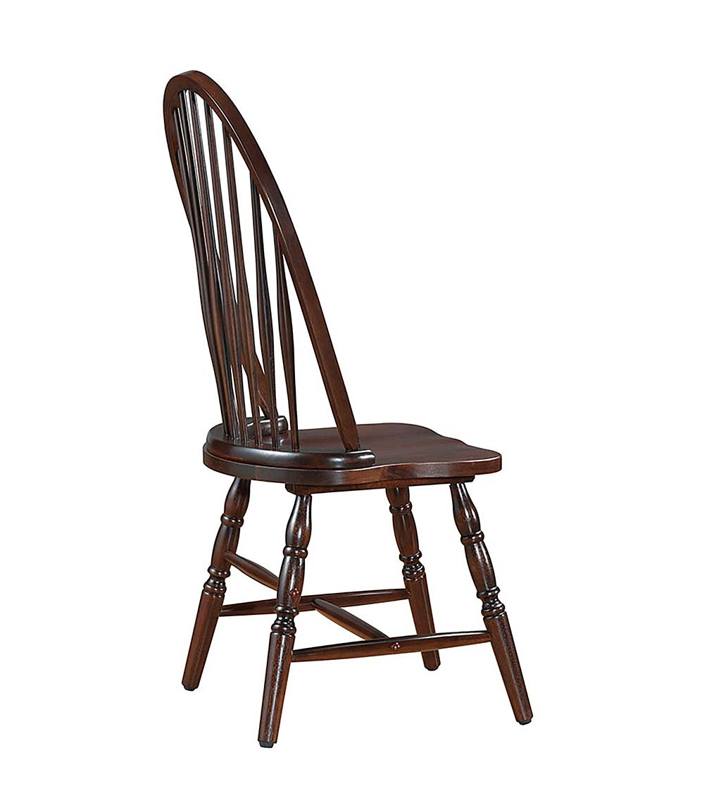 Traditional Hardwood Windsor Back Chair