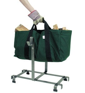 American Made Canvas Carrier Bag Log Rack