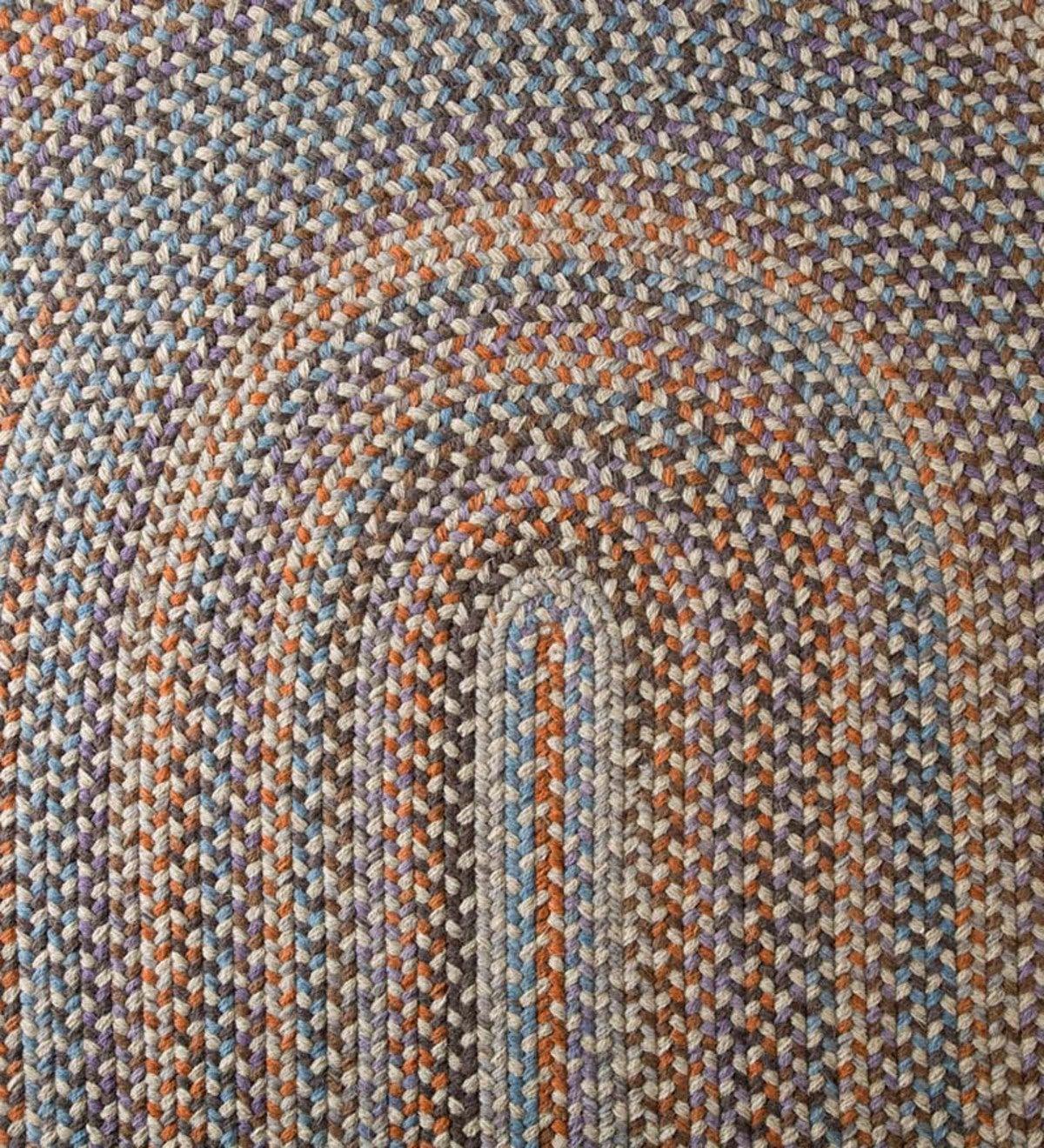 Blue Ridge Wool Braided Oval Rugs Made In Usa Braided