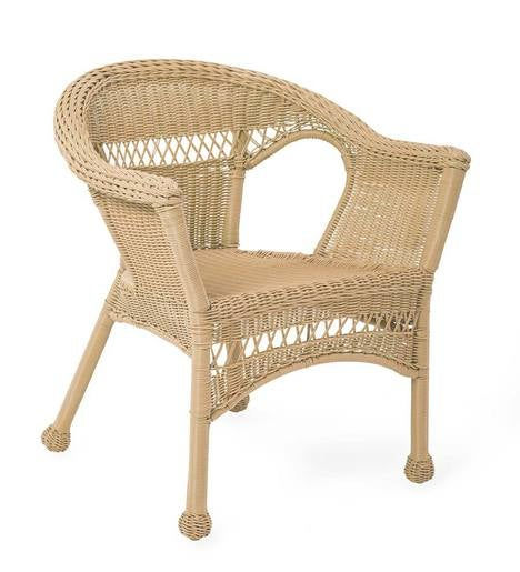 Easy Care Resin Wicker Chair