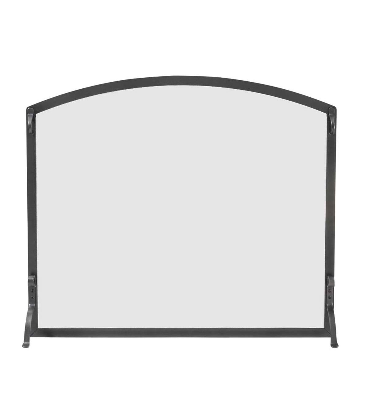 Small Custom Flat Guard with Arched Top - under 1,350 sq. inches