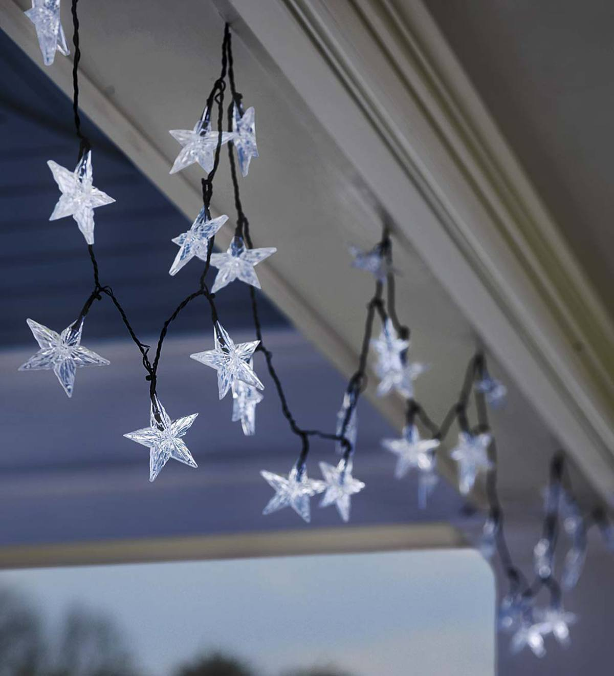 Solar Star-Shaped String Lights