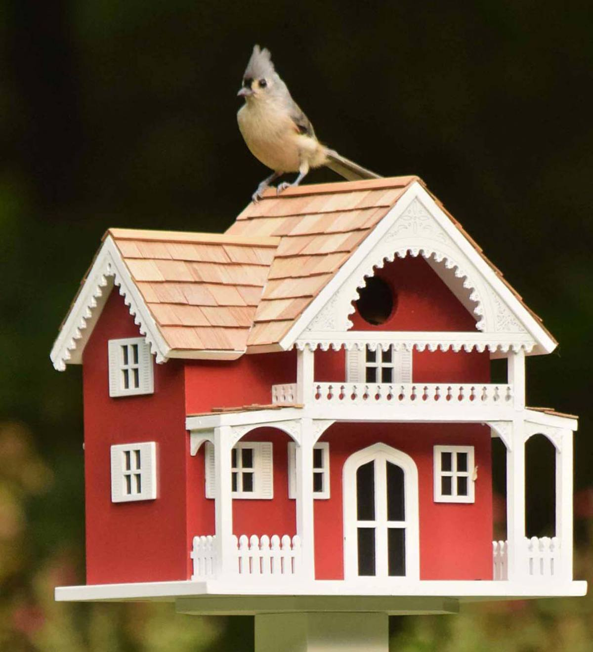 Shelter Island Birdhouse - Red