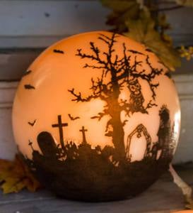 Halloween Glowing Luminary Globe