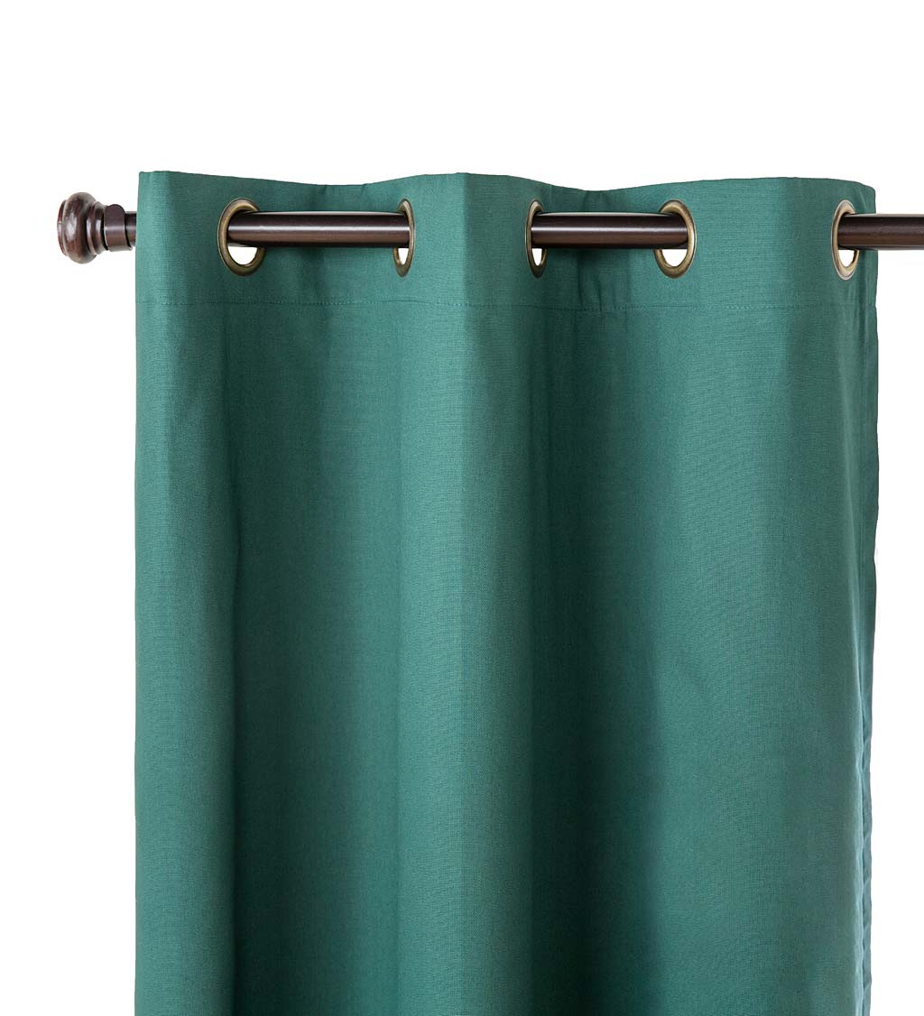 "54""L Thermalogic Energy Efficient Insulated Grommet-Top Solid Curtain Pair swatch image"