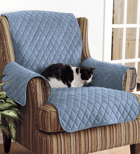 Personalized Polyester Pet Chair Protective Cover