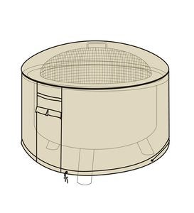 Deluxe Fire Pit Cover