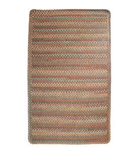 Blue Ridge Rectangle Wool Braided Rug, 7' x 9' - Moss Multi