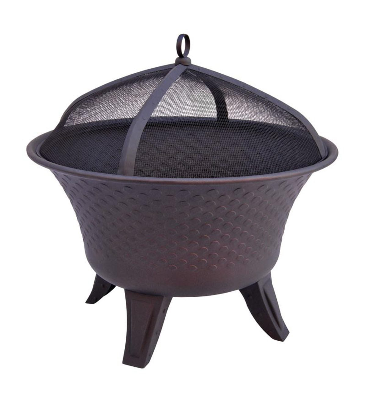 Rounded Bella Fire Pit With Flared Fire Bowl