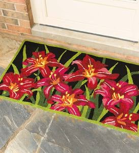 Tiger Lilies Indoor/Outdoor Accent Rug