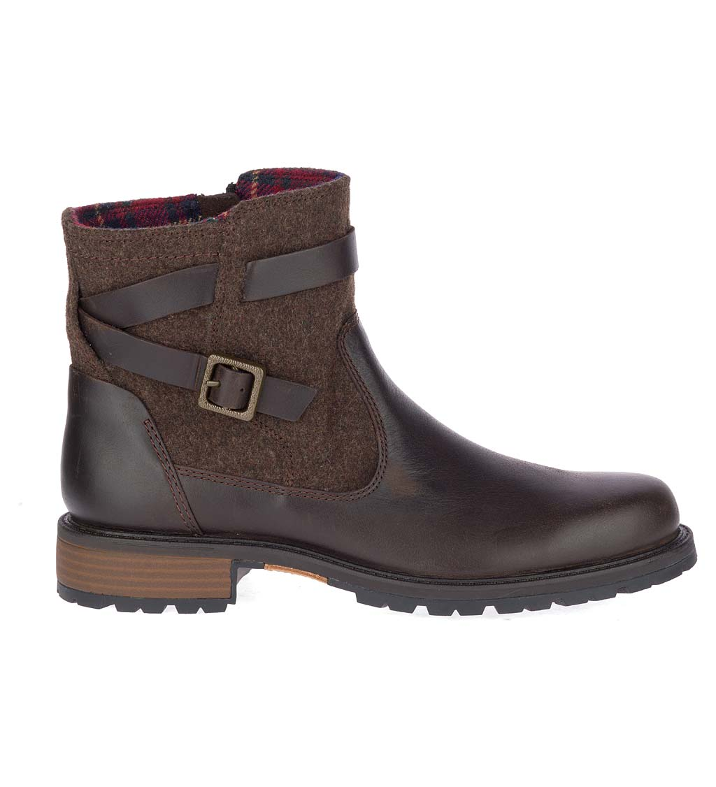 Merrell Women's Legacy Buckle Waterproof Boot