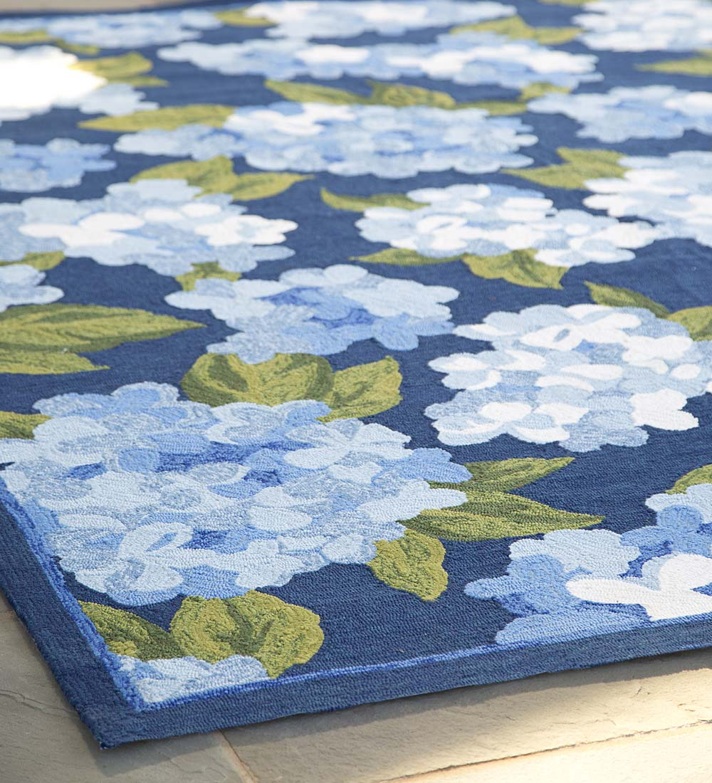 Hydrangea Indoor/Outdoor Rug