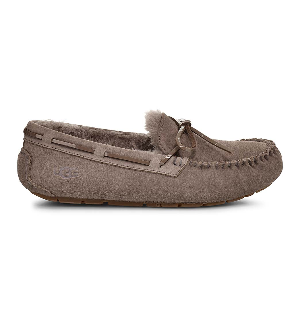 UGG Women's Dakota Moccasin Slippers - Mole - Size 5