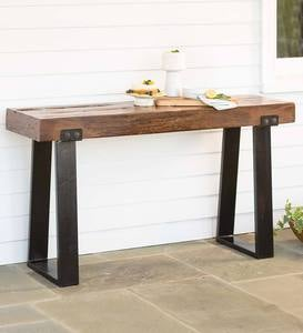 Richland Indoor/Outdoor Reclaimed Wood Console Table