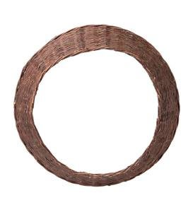 "Large Willow Christmas Tree Ring Collar, 27½""dia."