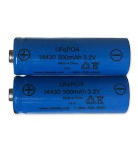 Rechargeable AA Batteries, Set of 2