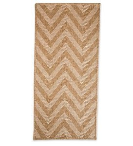 "8'6""x 13' Laurel Indoor and Outdoor Seagrass Look Rug In Neutral Patterns"