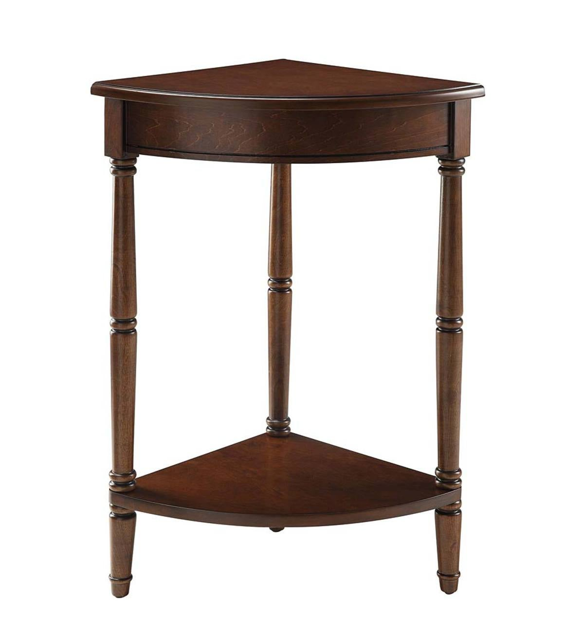 Corner Table/Plant Stand - Cherry
