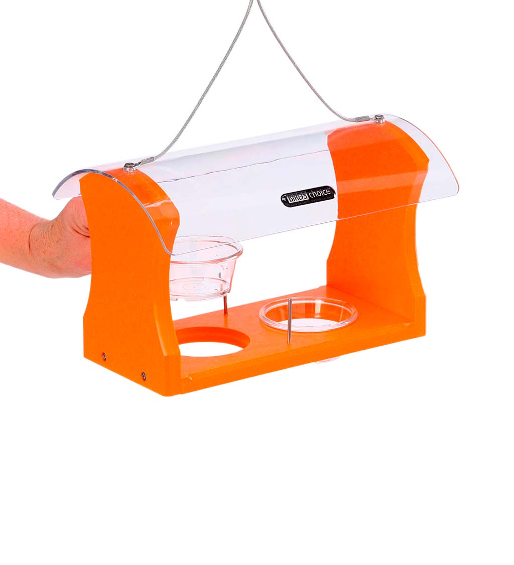 Recycled Plastic Poly-Lumber Oriole Bird Feeder