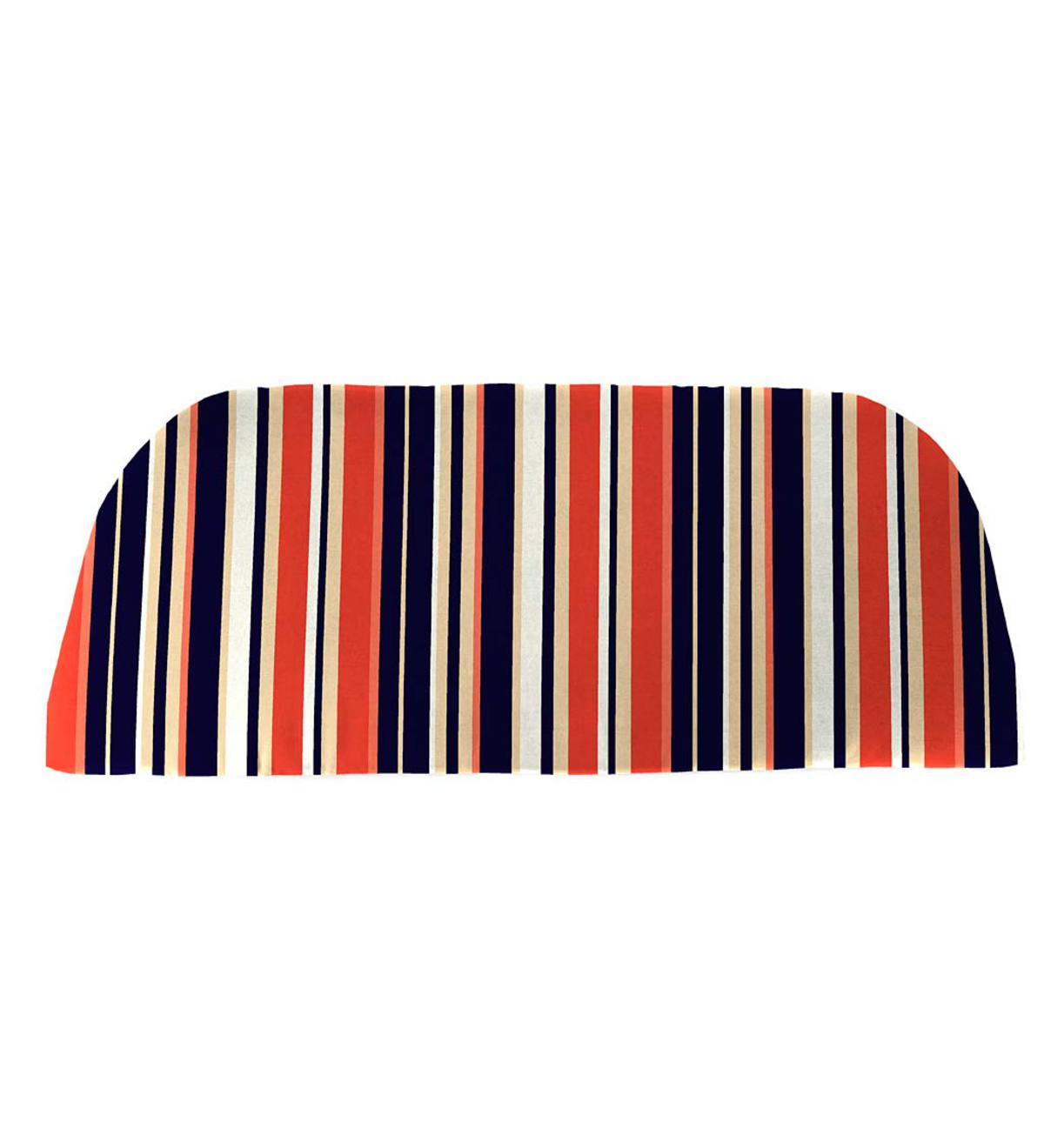"Sale! Polyester Classic Swing/Bench Cushion, 41""x 18¾""x 3"" - Midnight Stripe"