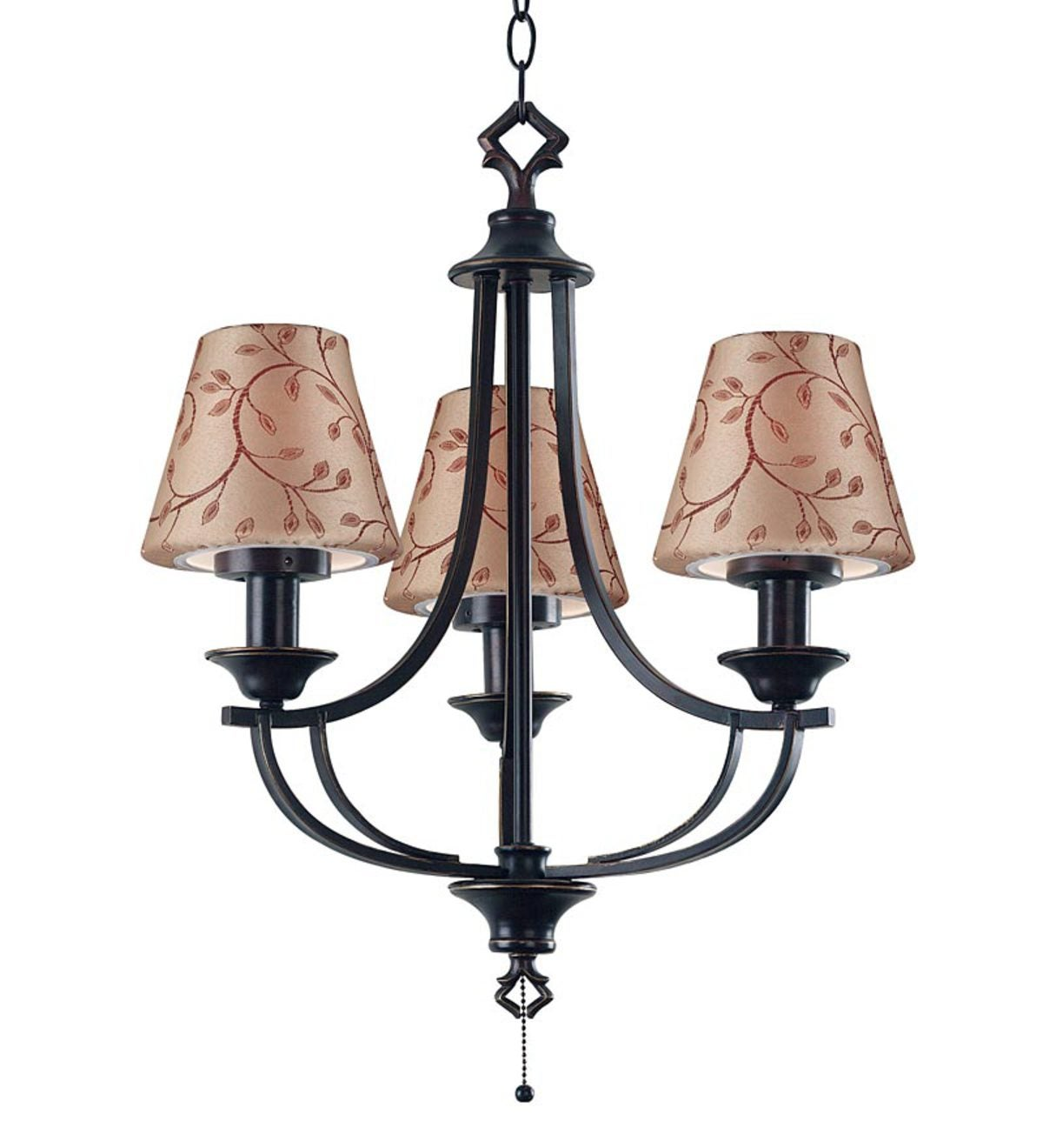 All-Weather Belmont 3-Light Outdoor Chandelier