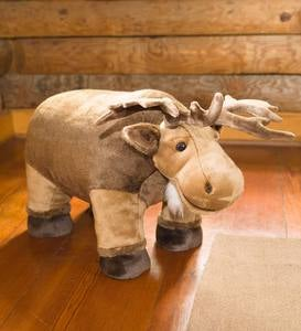 Moose Footstool