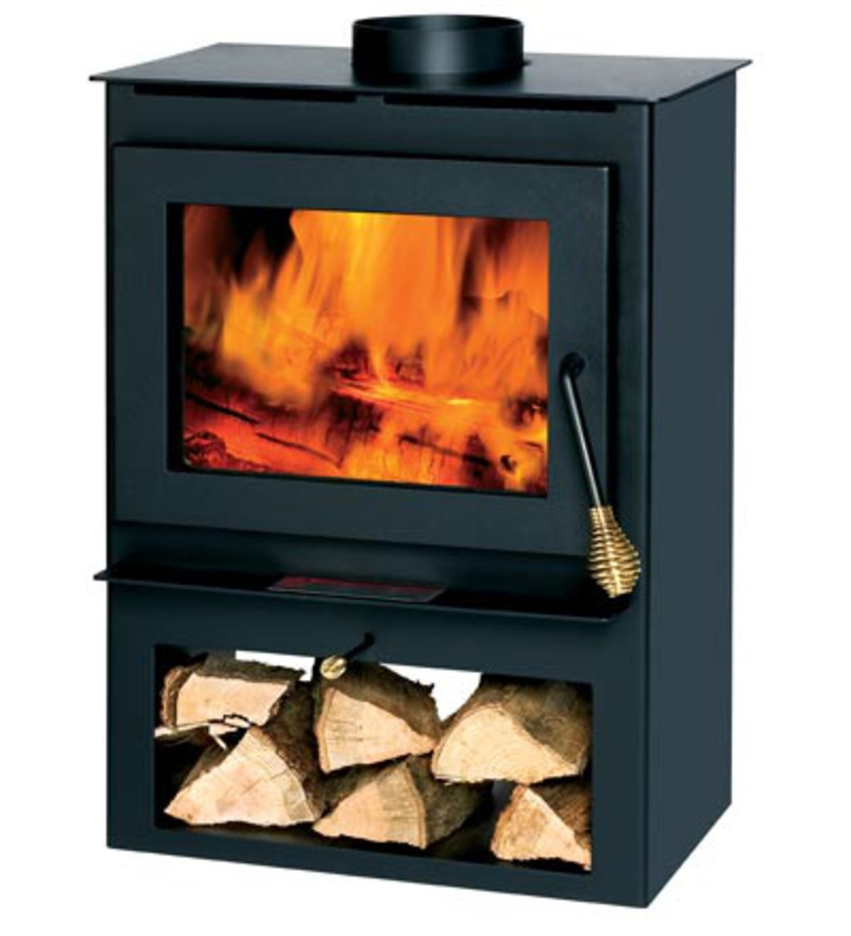 Freestanding Wood Stove Plowhearth