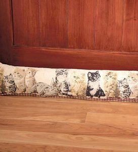 Tapestry Draftstopper Insulating Door Pillow