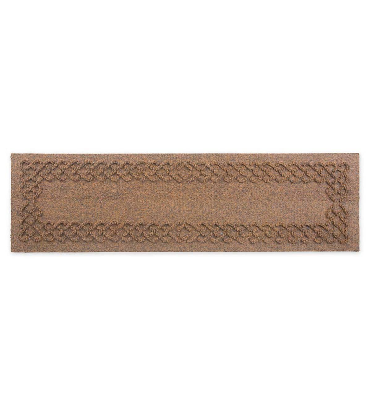 Waterhog Stair Treads, Set Of 4   Dark Brown