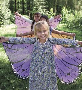 Fabric Monarch Butterfly Wings for Dress-Up Play