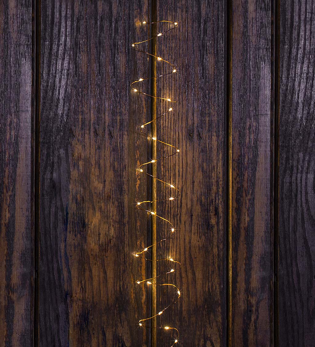 Multifunction Twinkle String Lights with 50 Micro LEDs