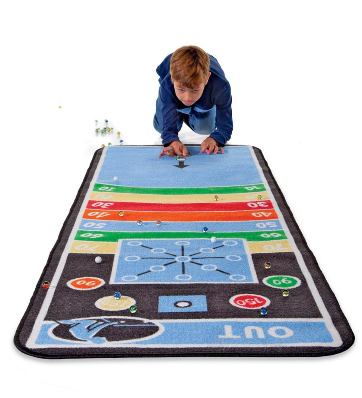 decorative play mat.htm marble aim game mat with marbles plowhearth  marble aim game mat with marbles