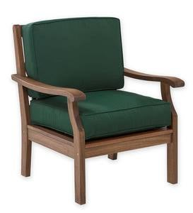 Claremont Chair with Cushions - Forest Green