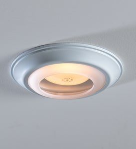 Simple Trim Recessed Light Cap Ring