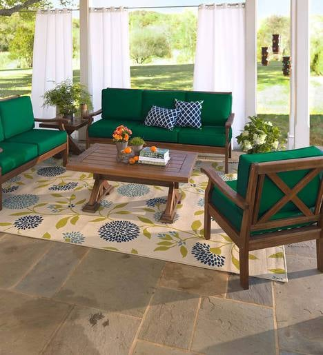Claremont Sofa Set Sofa Two Chairs Coffee Table And