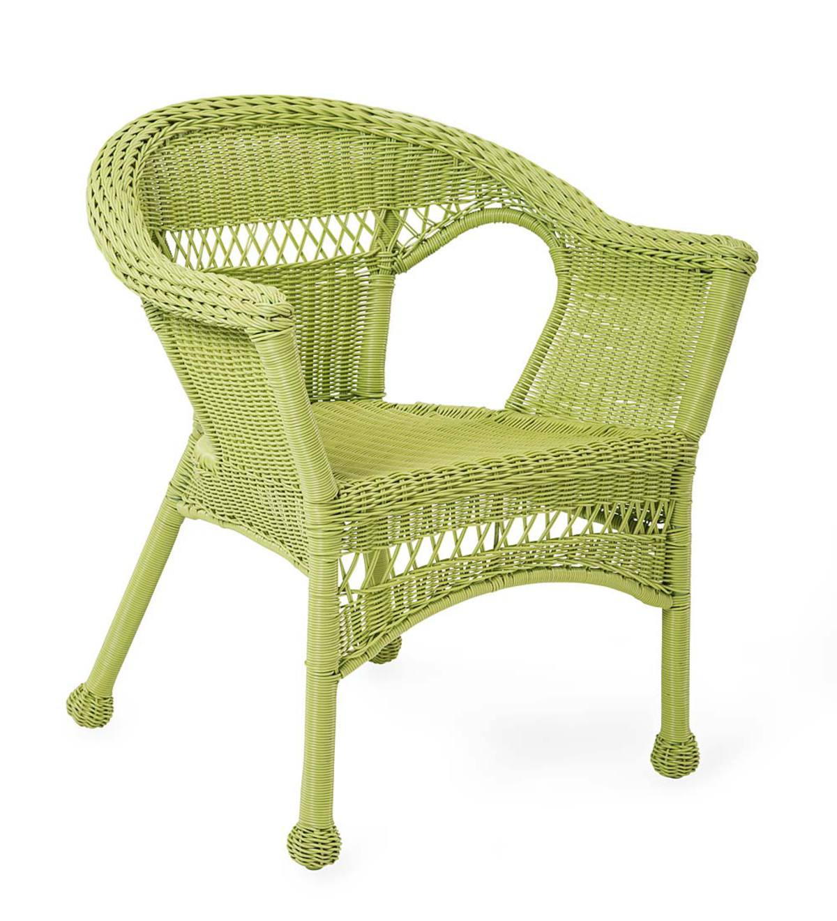 Sale! Easy Care Resin Wicker Chair