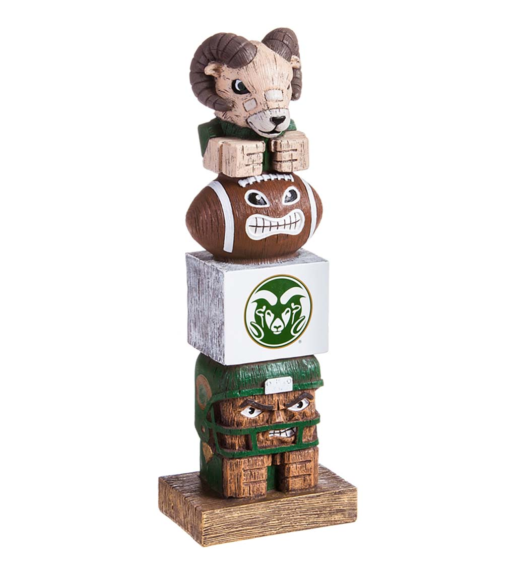 Indoor/Outdoor College Team Pride Totem Garden Statue