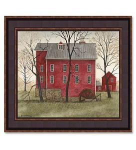Kirby's Mill Print by Bonnie Fisher
