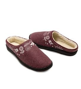 Acorn Talara Mule Slippers - Blue Heather - M (6½-7½)